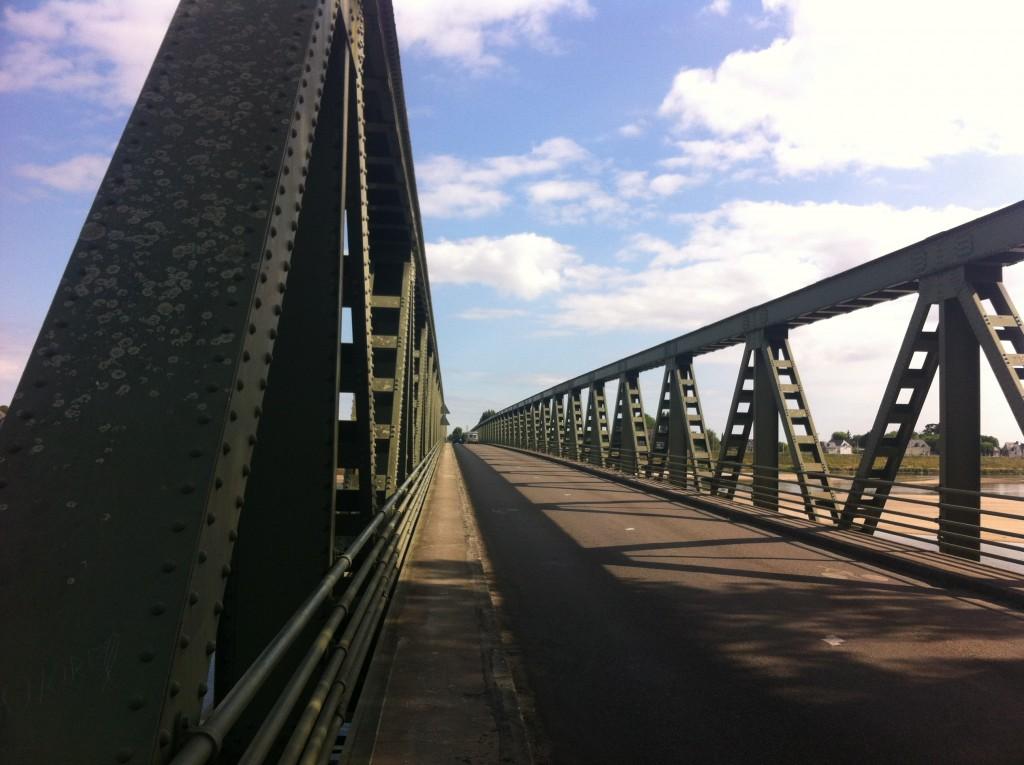 Mon moment de gloire, je traverse le Loire