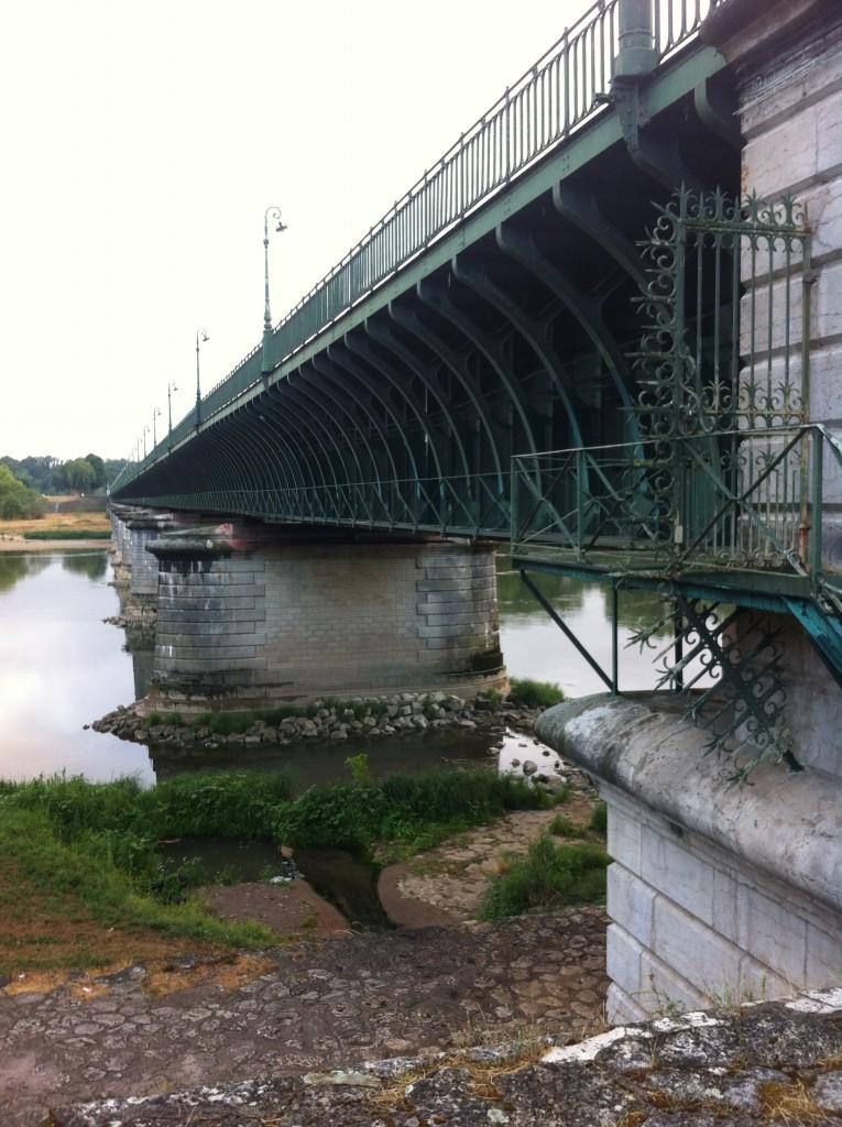 Onderzijde viaduct