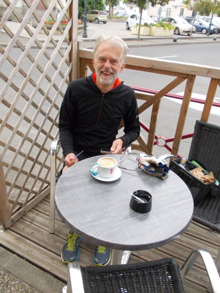 Eindelijk koffie in Mazé